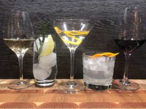 different Drinks, Wine, Martini, Gintonic by Ginfektion