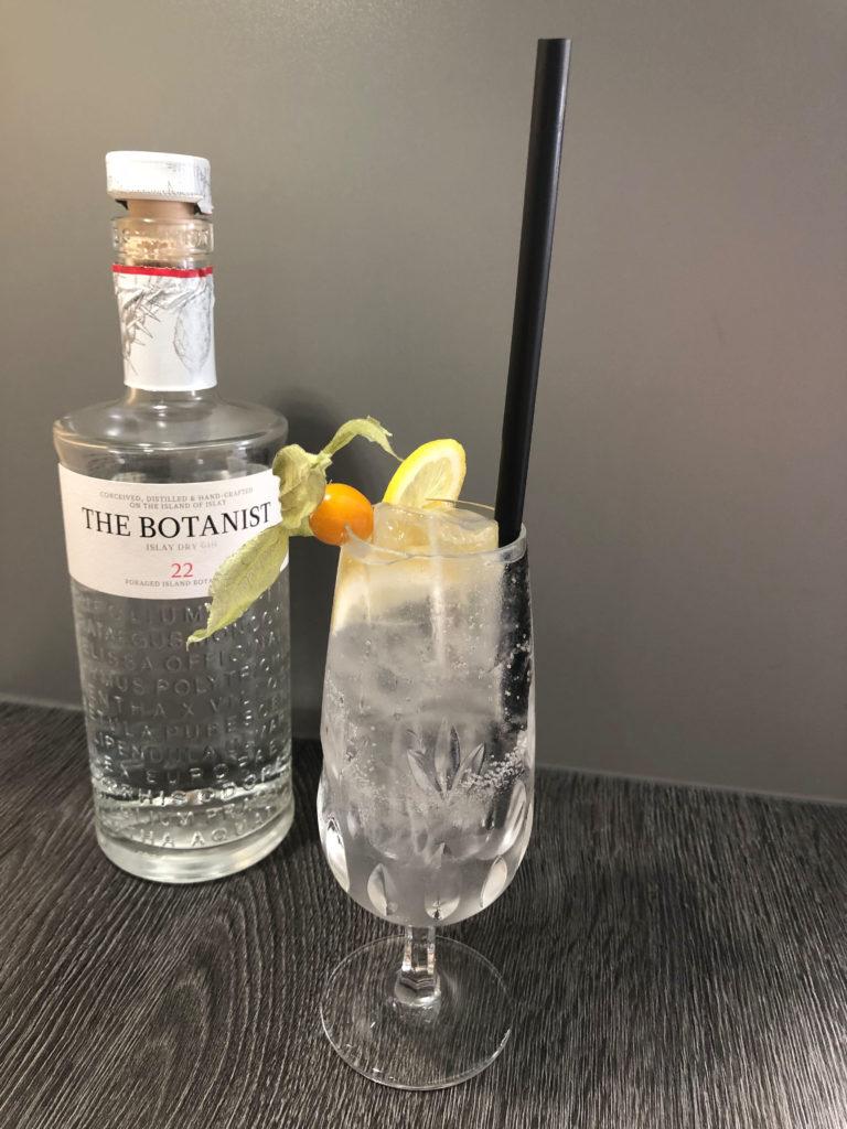 klassischer Cocktail mit dem Botanist Gin, GINfektion,