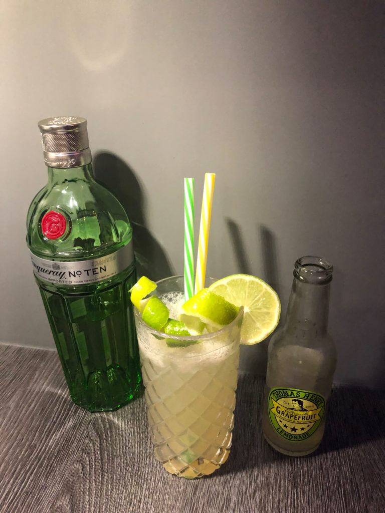 Frühlings Drink mit Tanqueray No. 10 by GINfektion