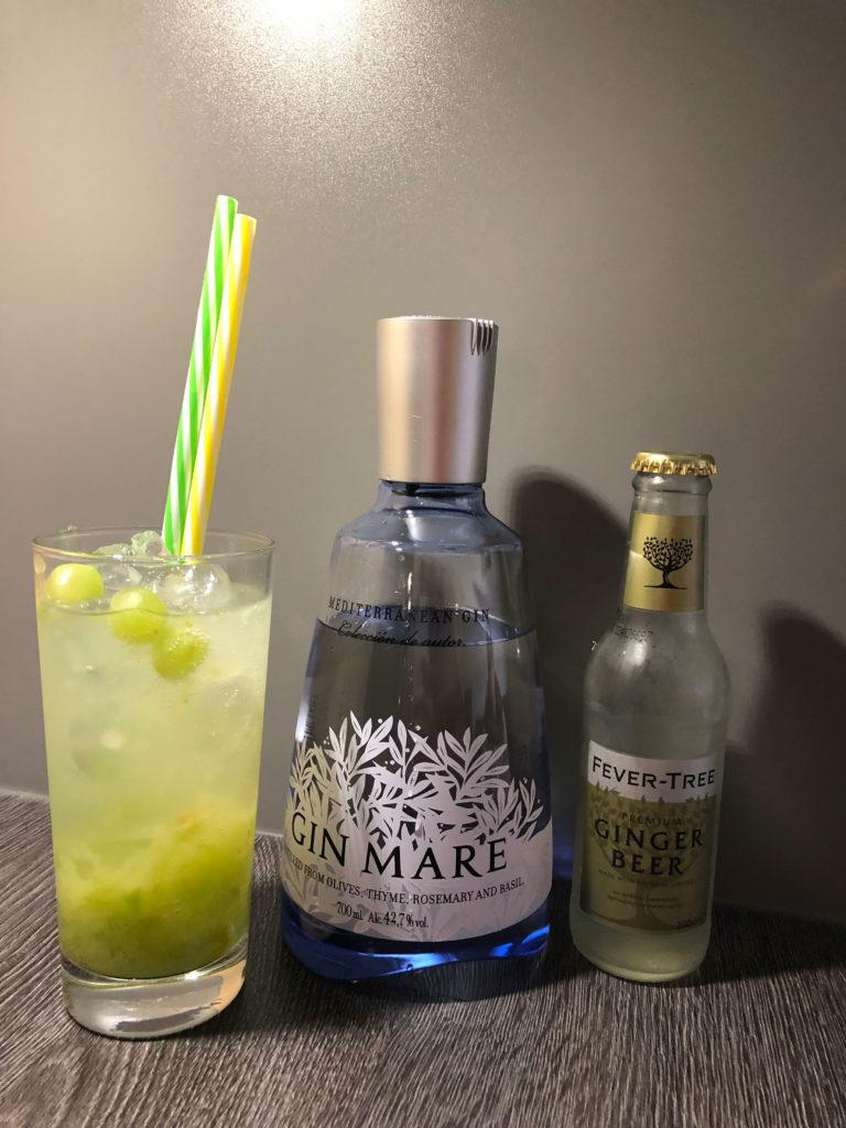 süss-scharfer Drink mit Gin Mare GINfektion