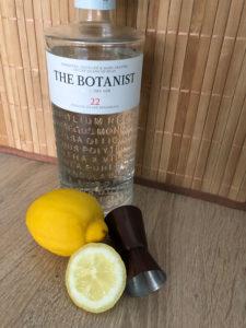 The Botanist Islay dry Gin mit Jogger und Zitrone