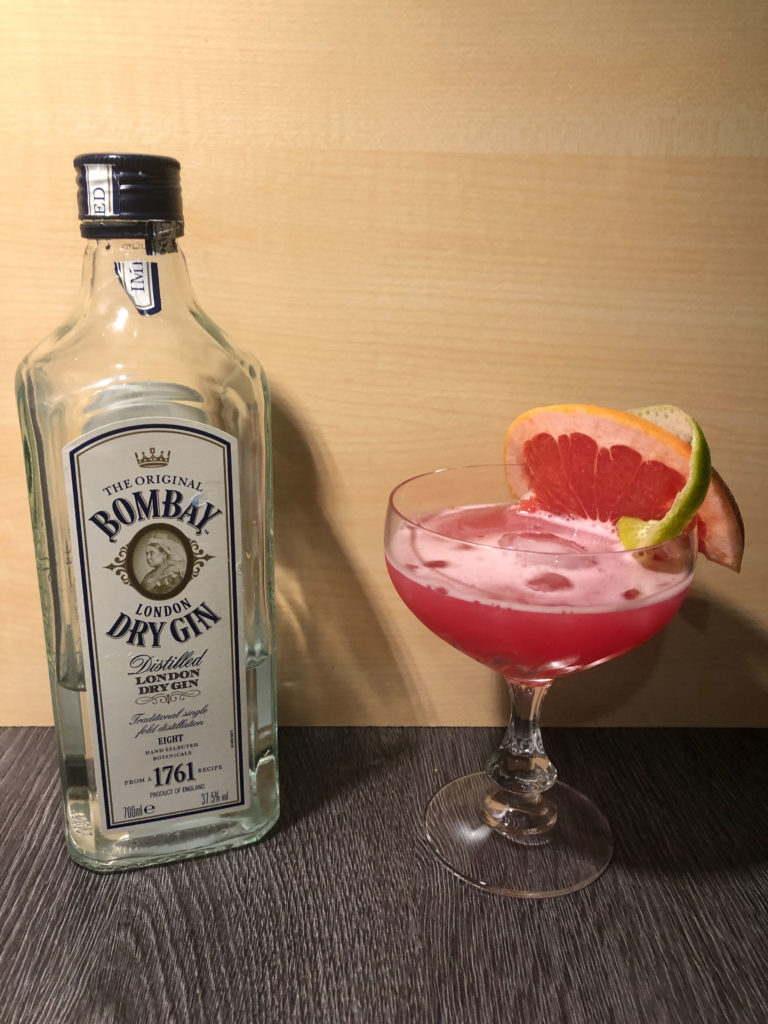 GINfektion, Smalldrink, Moulin Rouge, Bombay London Dry Gin,