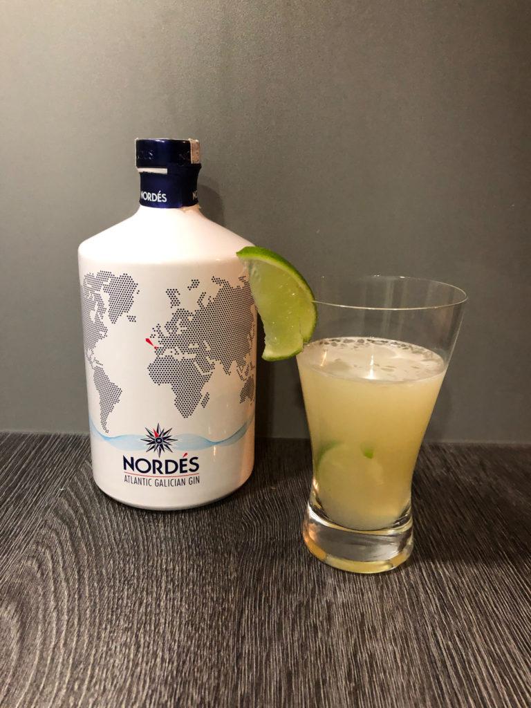 Cocktail mit Gin, Smalldrink, Nordes Atlantik Gin, Ginfektion, Ginliebhaber, starker Drink