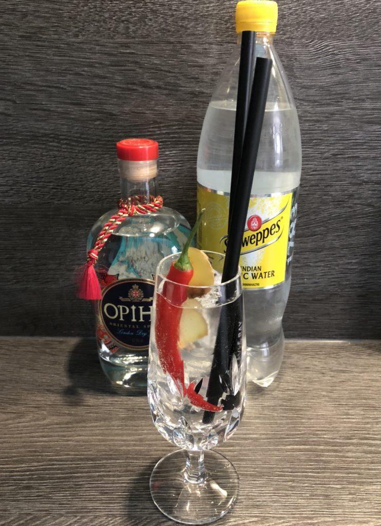 GINfektion, Gin Tonic, OPIHR Gin, Schweppes Indian Tonic