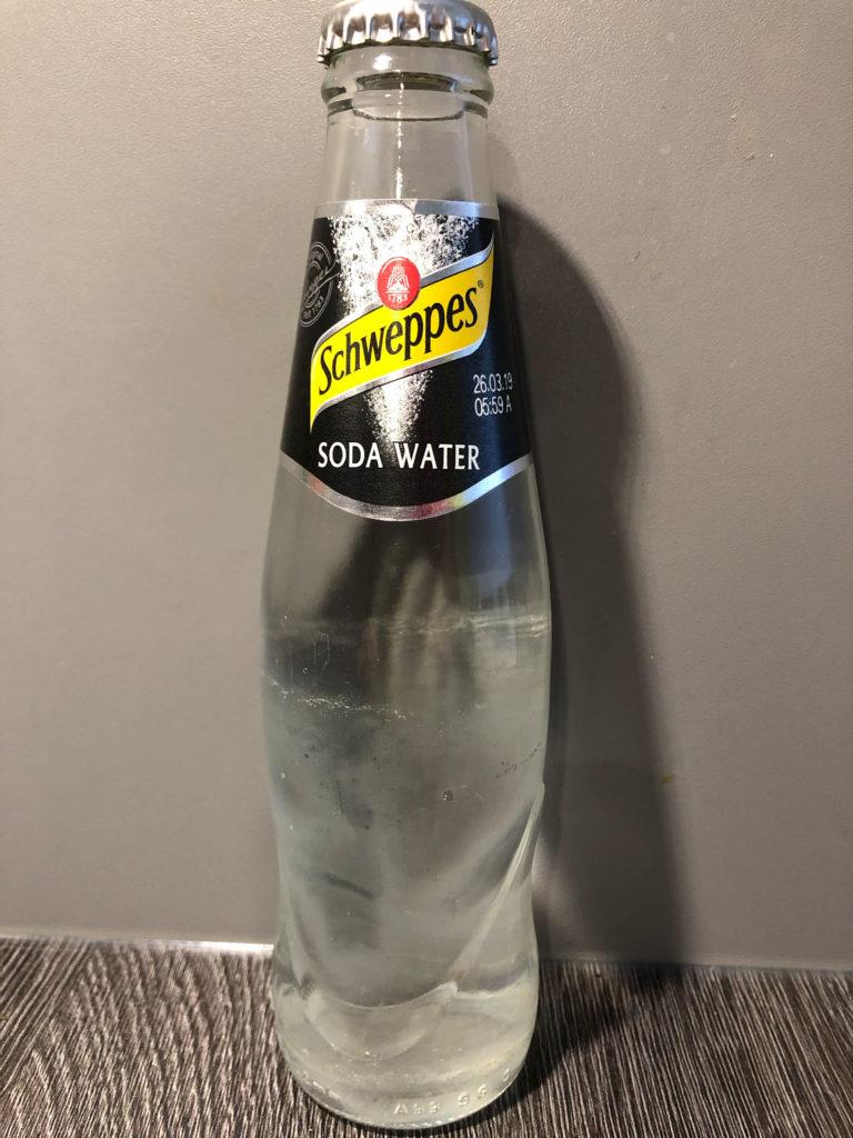 Schweppes Soda Water Ginfektion