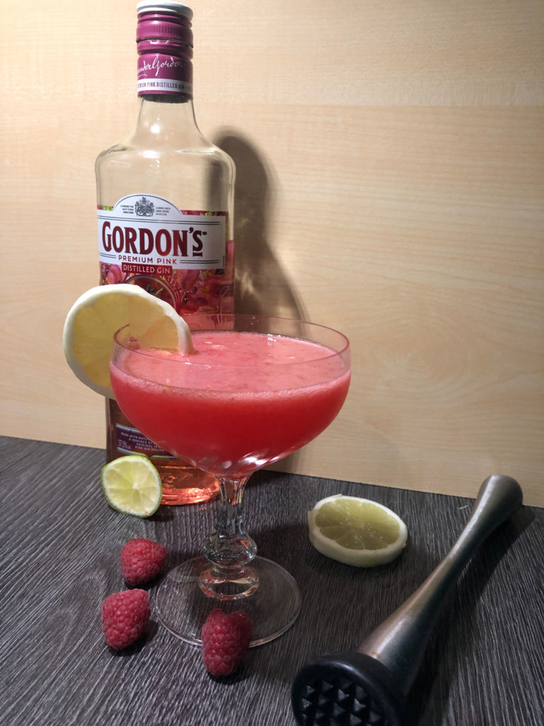 Iced Sweet Raspberry Cocktail, Rezept, GINfektion, Smalldrink, Premiumdrink