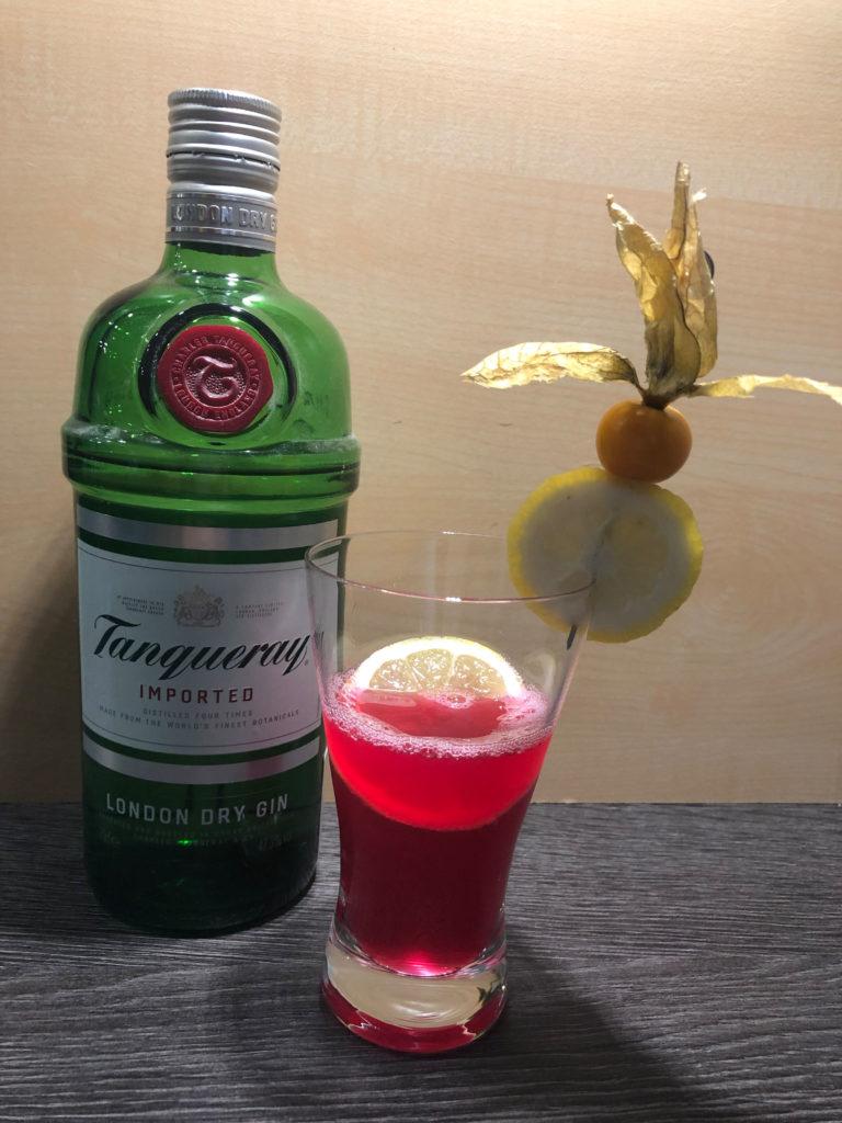 Ginrezept, Gincocktail, Ginsmalldrink, Smalldrink, Tanqueray, Ginfektion