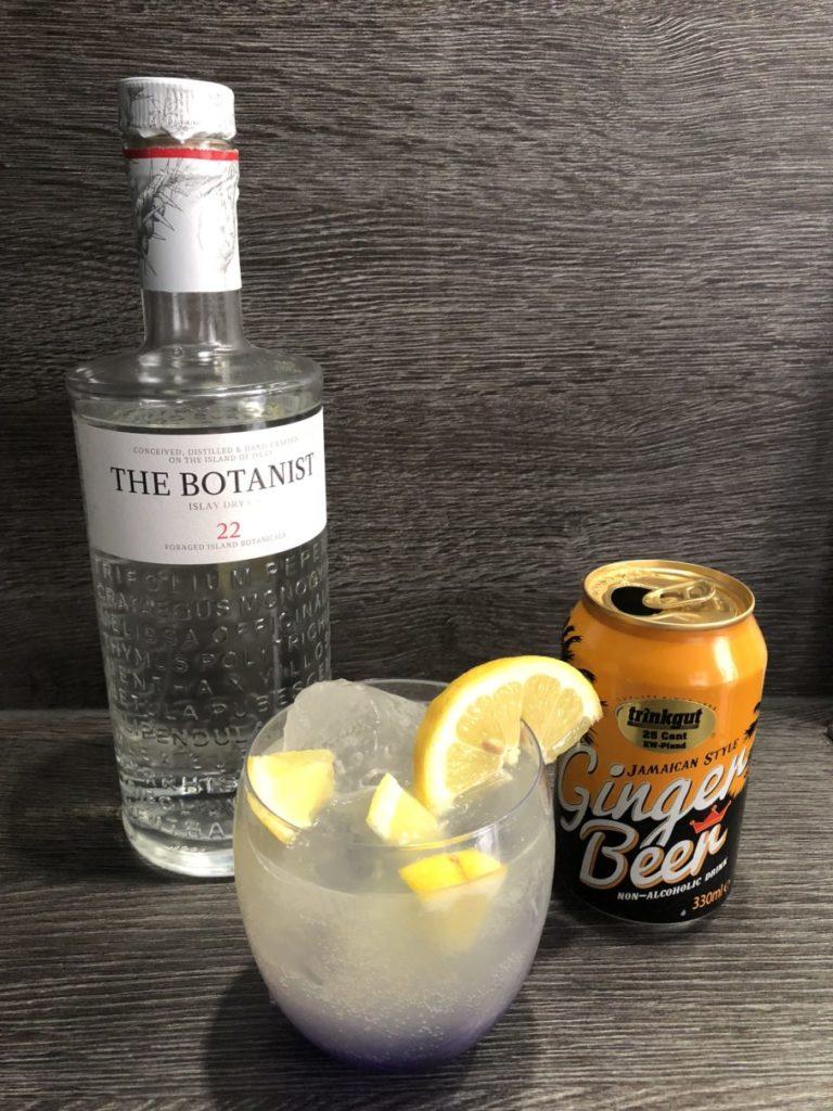 Cocktailrezept, Gincocktail, LondonMule, Ginmule, Munich Mule, Ginfektion, The Botanist Gin, Gingerbeer