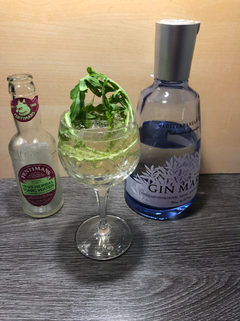würziger Gin Tonic mit GinMare by GINfektion